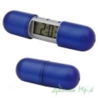 Часы настольные 12272604 (пластик, синие)