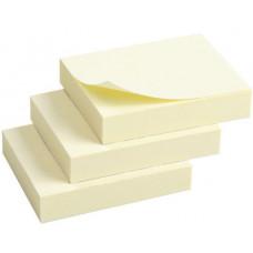 Блок стикеров 40 х 50 мм 100 шт Axent пастельный цвет, желтый (2311-01-A)