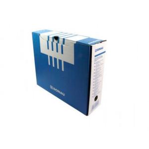 Бокс архивный картон 100 мм 297 х 339 мм Donau бело-синий (7661301PL-10)