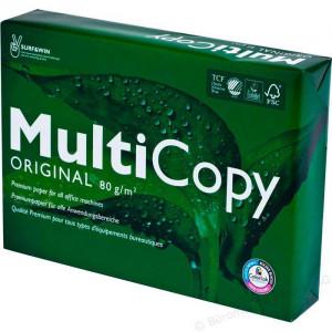 Бумага офисная A4 80 г/м кв класс A 168% MultiCopy 500 л