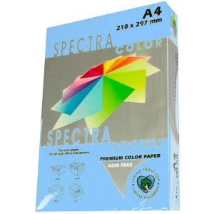Бумага цветная А4 75 г/м кв Spectra Color/IQ 500 л пастель синий (IT180/OBL70)