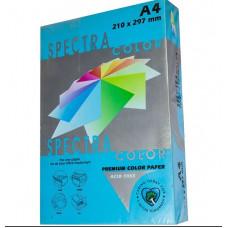 Бумага цветная А4 160 г/м кв Sinar Spectra 250 л насыщен синий (IT220)