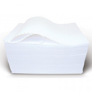 Бумага фальцованная перфорированная (SL-D), 55 г/м. кв., 210 мм х 1700 листов