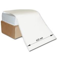 Бумага фальцованная перфорированная (SL-D), 55 г/м. кв., 420 мм х 1700 листов