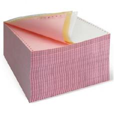 Бумага фальцованная цветная, перфорированная 3-х слойная (SL-D), 55 г/м. кв., 240 мм х 540 компл.