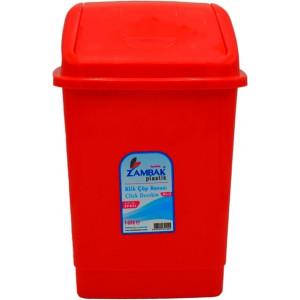 Ведро для мусора пластик 10 л с качающейся крышкой