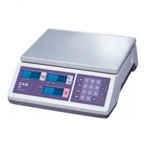 Весы торговые CAS Junior ER JR CB-15 RS (до 15 кг)