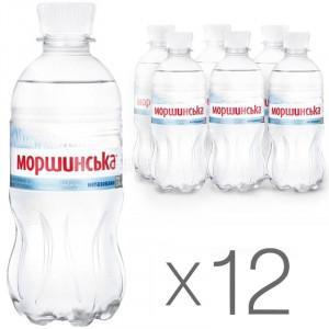 Вода минеральная негазир 0,33 л х 12 шт пластик Моршинская