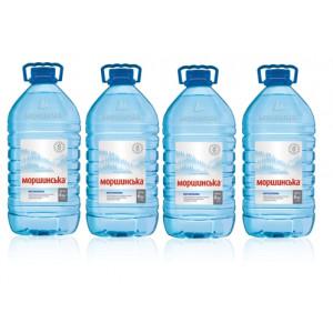 Вода минеральная негазир 6 л х 1 шт пластик Моршинская
