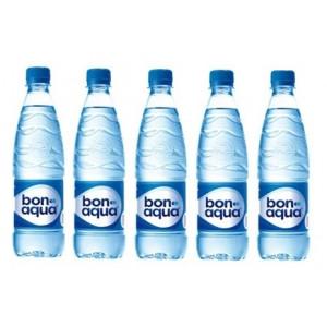 Вода минеральная сильногазир 0,5 л х 12 шт пластик BonAqua