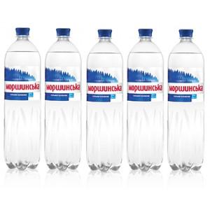Вода минеральная сильногазир 1,5 л х 6 шт пластик Моршинская