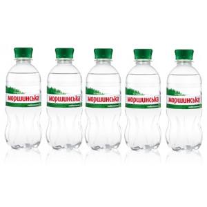 Вода минеральная слабогазир 0,33 л х 12 шт пластик Моршинская