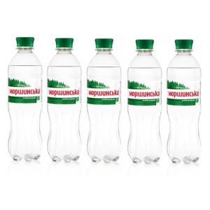 Вода минеральная слабогазир 0,5 л х 12 шт пластик Моршинская