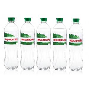 Вода минеральная слабогазир 0,75 л х 12 шт пластик Моршинская