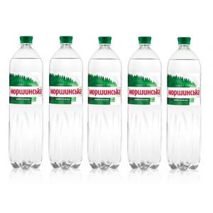 Вода минеральная слабогазир 1,5 л х 6 шт пластик Моршинская