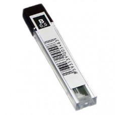 Грифели для механических карандашей 0,5 мм, B, KOH-I-NOOR-4152, (12 шт)