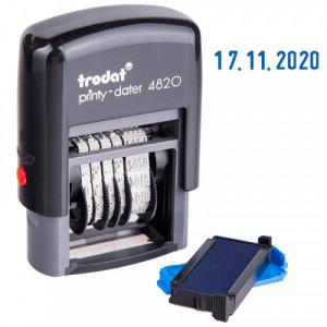 Датер 4 мм TRODAT 4820 (число; месяц; год;)