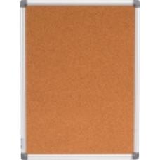 Доска пробковая 45 х 60 см BuroMax  в алюминиевой рамке (ВМ.0016)