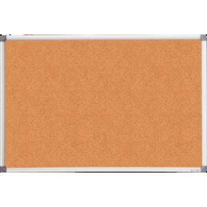 Доска пробковая 60 х 90 см BuroMax в алюминиевой рамке (ВМ.0017)