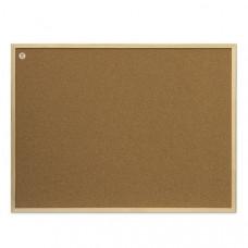 Доска пробковая 30 х 40 см 2х3 в деревянной рамке (TC34/C)
