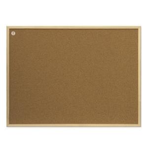 Доска пробковая 60 х 80 см 2х3 в деревянной рамке (TC86/C)