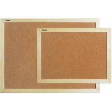 Доска пробковая 45 х 60 см Axent в деревянной рамке (9601-a)