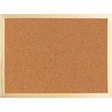 Доска пробковая 60 х 90 см Axent в деревянной рамке