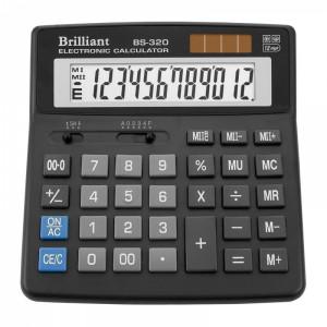 Калькулятор BRILLIANT BS-320 12 разр 156 x 157 x 35 мм