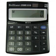 Калькулятор BRILLIANT BS-210 10 разр 100 x 125 x 15 мм (аналог SDC-810)