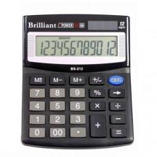 Калькулятор BRILLIANT BS-212 12 разр 100 x 125 x 15 мм (аналог SDC-812)