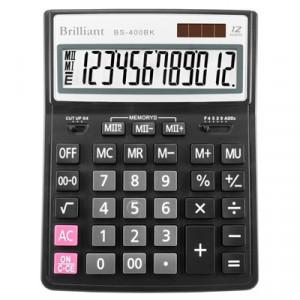 Калькулятор BRILLIANT BS-400 12 разр 155 x 205 x 35 мм