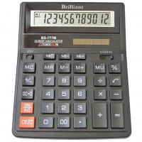 Калькулятор BRILLIANT BS-777M 12 разр 205 x 159 x 15(31) мм (аналог SDC-888)