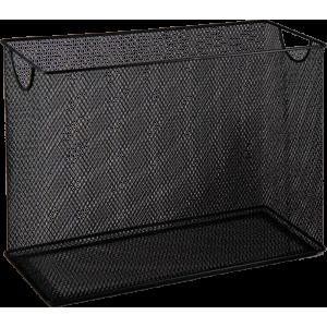 Картотека для подвесных файлов Buromax металл 315 х 140 х 245 мм черная (BM.6236-01)