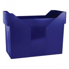 Картотека для подвесных файлов Donau пластик 163 х 365 х 260 мм синяя (7421001-18)
