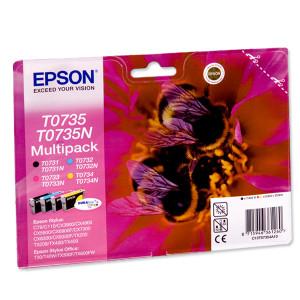 Картридж EPSON Stylus C79/CX3900/4900/5900/6900F(Black/Cyan/Magenta/Yellow)(C13T10554A10) оригинал