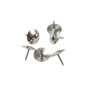 Кнопки канцелярские 50 шт Axent никелир (4201-A)