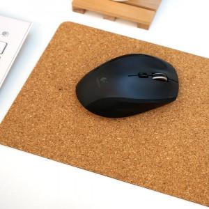 Коврик для мыши оптической пробковый 20 х 18 см (EV-CP01)