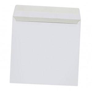 Конверт для CD/DVD дисков (124 х 124), без окна, белый
