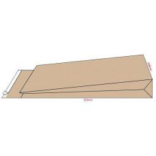 Конверт самокл B4 (250 х 353) 10 шт с расширением коричневый