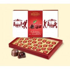 Конфеты Roshen Вишня в шоколаде 313 гр