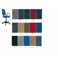 Кресло офисное JUPITER GTP ткан обивка (черное)