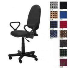 Кресло офисное PRESTIGE GTP NEW ткан обивка (цвет C-11, черный)
