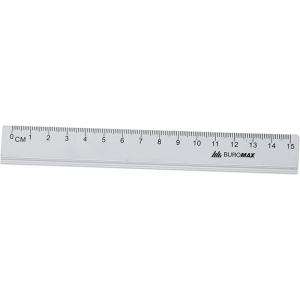 Линейка алюминиевая 15 см BuroMax (BM.5800-15)