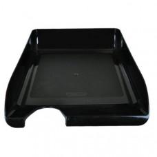 Лоток гориз пластик BuroMax Jobmax черный (BM.6000-01)