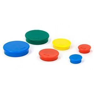 Магниты цветные 2х3 d/30 мм х 10 шт (АМ130)