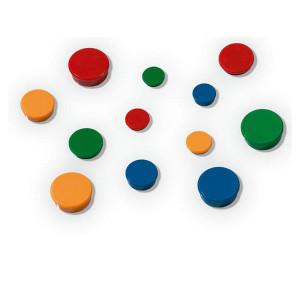 Магниты цветные круглые d/20 мм х 10 шт