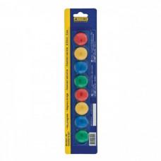 Магниты цветные круглые BuroMax d/20 мм х 8 шт (BM.0021-82)