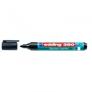 Маркер для флипчартов черный 1,5-3 мм кругл након Edding 380