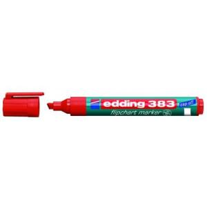 Маркер для флипчартов красный 1,5-3 мм скош након Edding 383