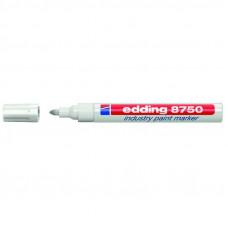 Маркер лакирующий (универс) белый 2-4 мм Edding 8750